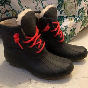 Sperry for J Crew winter/rain boots